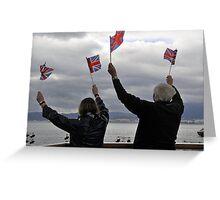 British forever? Greeting Card