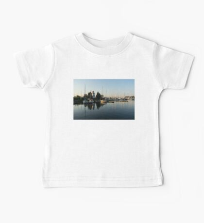 Hot Summer - Clear Sky and Sunshine at the Yacht Club Baby Tee