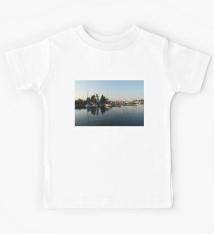 Hot Summer - Clear Sky and Sunshine at the Yacht Club Kids Tee