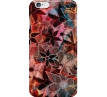 Colorful Vintage Trendy Floral Pattern iPhone Case/Skin
