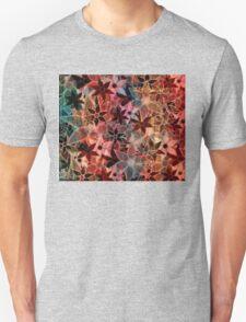 Colorful Vintage Trendy Floral Pattern Unisex T-Shirt