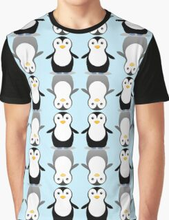 PENGUIN PAIR ON ICE Graphic T-Shirt