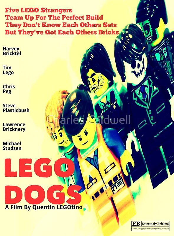 LEGO Dogs by Charles Caldwell