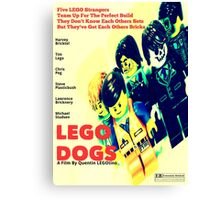 LEGO Dogs Canvas Print