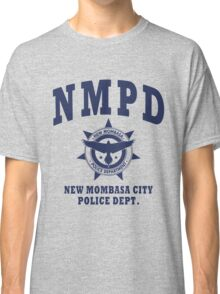New Mombasa Police Dept. - Halo - Blue Classic T-Shirt
