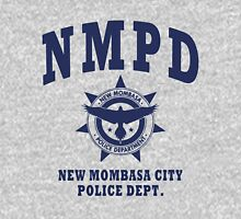 New Mombasa Police Dept. - Halo - Blue Unisex T-Shirt