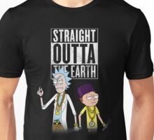 Straight outta the earth Unisex T-Shirt