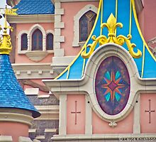 Sleeping Beauty Castle Detail by ThatDisneyLover