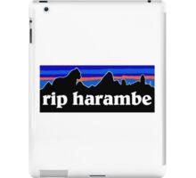 RIP Harambe Patagonia iPad Case/Skin