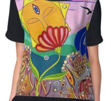 Flower Gods Chiffon Top