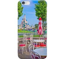 Sleeping Beauty Castle from Casey's Corner iPhone Case/Skin