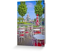 Sleeping Beauty Castle from Casey's Corner Greeting Card