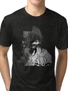 tokyo ghoul ANIME Tri-blend T-Shirt