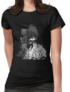 tokyo ghoul ANIME Womens Fitted T-Shirt
