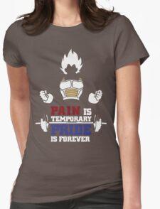 Vegeta Power Womens Fitted T-Shirt