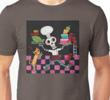 Chef Skelly Unisex T-Shirt