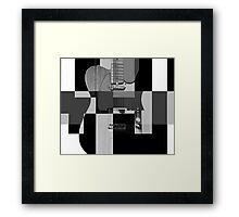 Block Party Framed Print