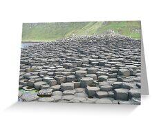 Giant's Causeway- Northern Ireland Greeting Card