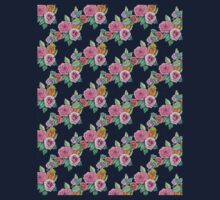 Diagonal of flowers Kids Tee