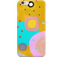 Yellow Abstract Art iPhone Case/Skin