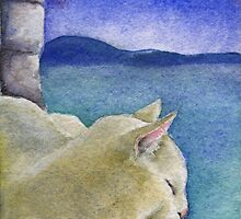 Castle Cat by Ellen Sullivan Farley