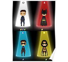 The Evolution of Batman Poster