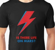 """David Bowie """"Is There Life on Mars?"""" original design Unisex T-Shirt"""