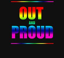 Out and Proud Rainbow Unisex T-Shirt