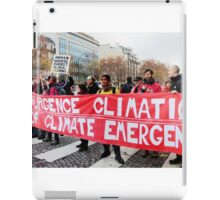 State of Climate Emergency iPad Case/Skin
