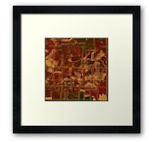 1028 Abstract Thought Framed Print