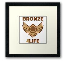 Bronze 4Life Framed Print