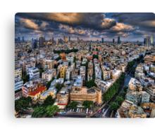 Tel Aviv lookout Canvas Print