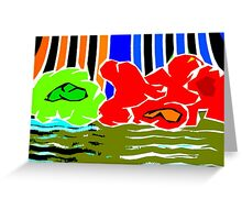 RAINBOW IN THE SKY Greeting Card