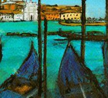 Quattro Gondola, Venice Sticker