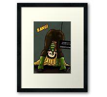 Damian Wayne Framed Print