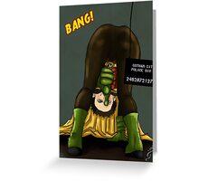 Damian Wayne Greeting Card
