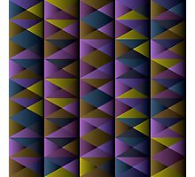 Triangle Shade Pattern Var. 2 Photographic Print