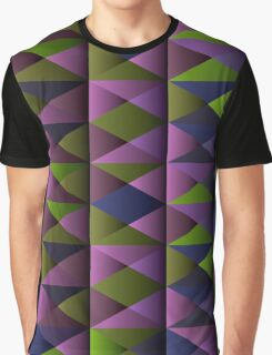 Triangle Shade Pattern Var. 3 Graphic T-Shirt