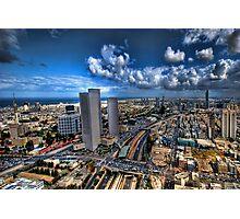 Tel Aviv, sunrise over the city Photographic Print