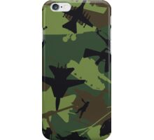 Military Camouflage Pattern Print iPhone Case/Skin