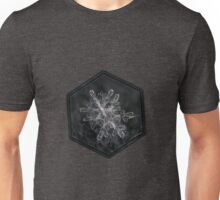 Snowflake photo - january 18 2013 grey colors Unisex T-Shirt