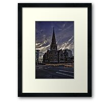 Trinity Methodist Church Framed Print
