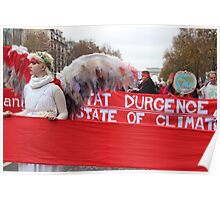Climate Guardian Angel in Paris COP21 Poster