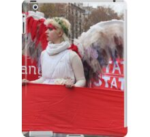 Climate Guardian Angel in Paris COP21 iPad Case/Skin