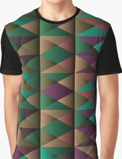 Triangle Shade Pattern Var. 5 Graphic T-Shirt