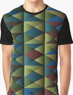 Triangle Shade Pattern Var. 6 Graphic T-Shirt
