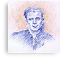 Cesare Palmieri portrait Canvas Print