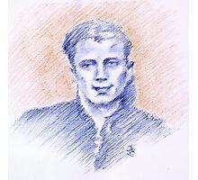 Cesare Palmieri portrait Photographic Print