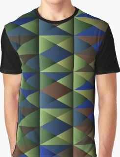 Triangle Shade Pattern Var. 7 Graphic T-Shirt