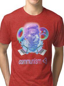 VAPORWAVE STALIN Tri-blend T-Shirt